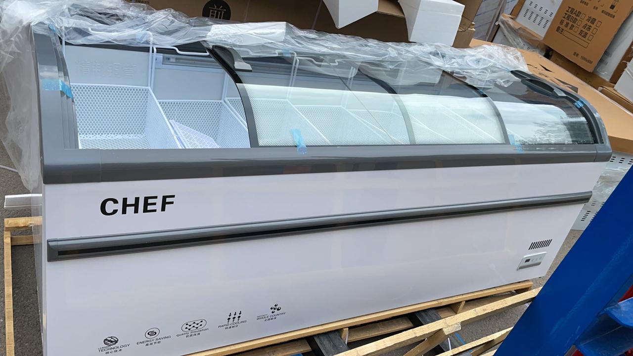 Ларь-Бонета. Холодильная витрина 2500*765*860 мм