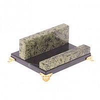 Подставка под мобильный телефон из камня змеевик