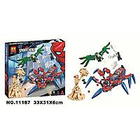 Конструктор Человек-паук: Паучий вездеход, Bela 11187 аналог Лего Марвел Финал 76114