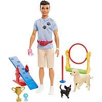 Кукла Barbie: Кем стать? Кен - Кинолог
