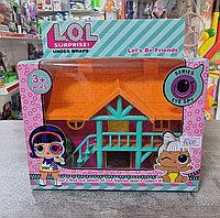 Кукольный дом LOL 15×15 см