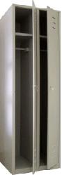 Медстальконструкция Дополнительная секция для шкафа для одежды металлический разборный на заклепках