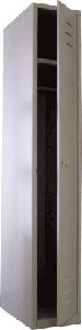 Медстальконструкция Шкаф для одежды металлический разборный на заклепках МСК-2942.425