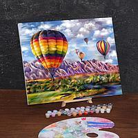 Картина по номерам на холсте с подрамником 'Воздушные шары' 40х50 см