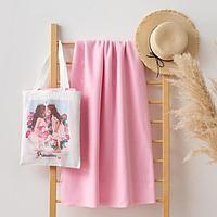Набор LoveLife 'Princesses' (вид 2) сумка-шопер 33*39 см + флисовый плед 150*130 см