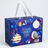 Пакет-коробка подарочная 'Чудесного нового года', Me To You