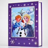 Дневник школьный, для 1-4 класса в твёрдой обложке, 48 л., Frozen, Холодное сердце