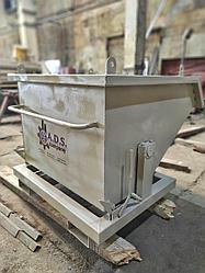 Саморазгружающийся контейнер для погрузчика