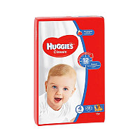 Подгузники Huggies Классик (4) 7-18 (68шт)