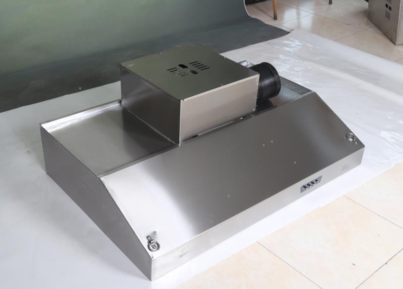 Вытяжной зонт 2000*800*250 мм. Два мотора