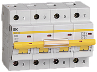 Автоматический выключатель ВА 47-100 4Р 80А 10 кА х-ка С ИЭК