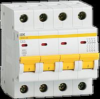 Автоматический выключатель ВА47-29М 4P 50A 4,5кА х-ка C ИЭК