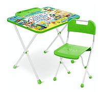 НИКА Набор мебели МИККИ МАУС (стол складн.+пенал,стул) от 1,5 до 3 лет