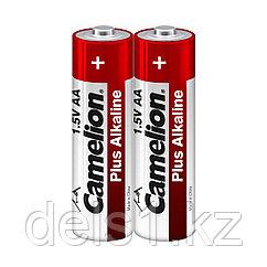 Батарейка, CAMELION, LR6-SP2, Plus Alkaline, AA, 1.5V, 2700 mAh, 2 шт. в плёнке