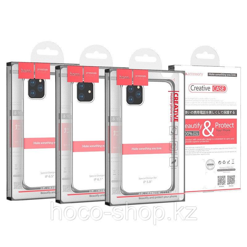 """Защитный чехол для iPhone 11 прозрачный Hoco """"Light series"""" - фото 4"""