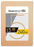 """SSD Team Group L5 Lite 3D 240Gb, 2.5"""", 7mm, SATA-III 6Gb/s, 3D NAND TLC, OEM"""