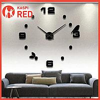 АКЦИЯ! Настенные 3д Часы дизайнерские 3D с Арабскими / Римскими цифрами