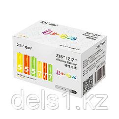 Батарейки, Xiaomi, ZMI LR24, Микс батареек 12шт ZI5/12шт ZI7, 24 шт в упаковке