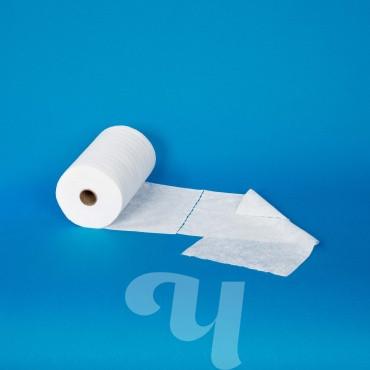 Салфетка спанлейс белый 30х40 см 100 шт/рул (40 г/ м²)
