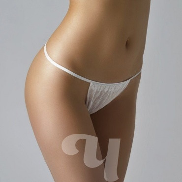 Трусы бикини женские белый спандбонд 25 шт/упк (поштучно),р.44-48, р-50-54