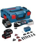 Многофункциональный инструмент Bosch GOP 18V-28 5.0Ач х2 L-BOXX 06018B6003