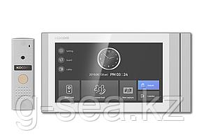 Комплект видеодомофона KCV-T701SM(W) + KC-MC20(D1) Kocom