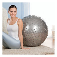 Гимнастический мяч (фитбол) 65 см с шипами