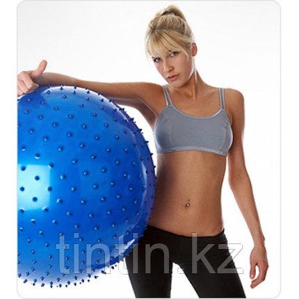 Гимнастический мяч (фитбол) 65 см с шипами, фото 2