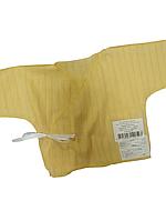 Распашонка clariss перфарированный хлопок желтая 56 р