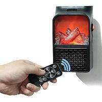 Портативный обогреватель-камин с пультом Flame Heater оптом и в розницу