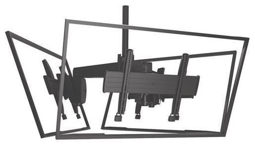 """Потолочное крепление для 3-х панелей 32 - 65"""""""