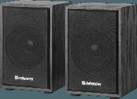 Акустическая система Defender SPK-250, 2.0, USB, Black