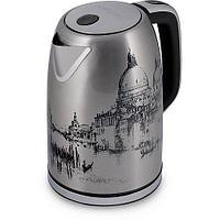 Эл.чайник PWK 1763CA Italy (POLARIS), Глянцевый