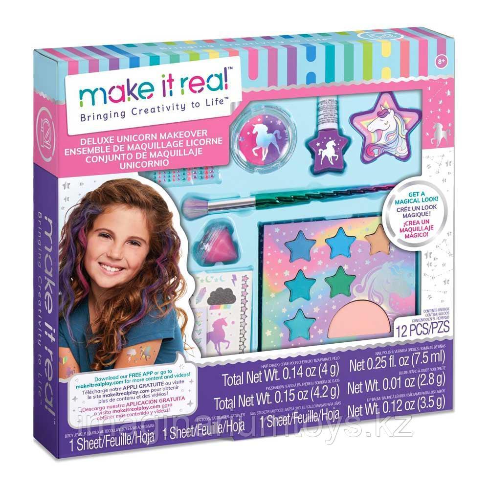 Детская косметика для девочек Единорог Make It Real