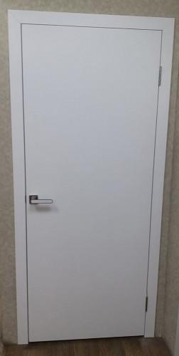 Межкомнатная дверь ДШ эмаль Белая