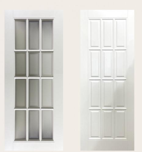 Межкомнатная дверь Сюита эмаль Белая Сапфир