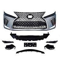Передний бампер в сборе на Lexus RX 2009-15 дизайн 2021