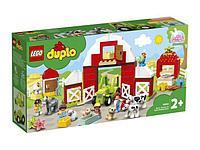 Lego 10952 Дупло Фермерский трактор, домик и животные Duplo