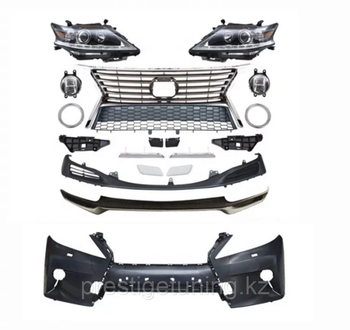 Рестайлинг комплект на Lexus RX 2009-12 в 2012-15 дизайн F-sport