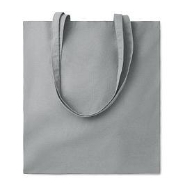 Хлопковая сумка шоппер, серая