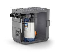 Канализационная насосная станция PEDROLLO с 40-литровой емкостью SAR 40 - TOP2 Vortex^ 15.20.06.007m