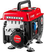 Генератор бензиновый, ЗУБР, 0.65/0.8 кВт, однофазный, синхронный, щеточный (ЗЭСБ-800)