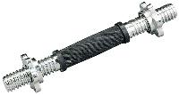 Гриф гантельный Atemi ARB35R 26*35 мм металл.замок-гайка, обризененная ручка