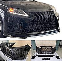 Передний бампер в сборе на Lexus RX 2009-15 дизайн 2019