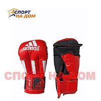 Перчатки для рукопашного боя Adidas (8 OZ,красный)