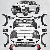 Рестайлинг комплект на Toyota Hilux 2015-19 в 2020- дизайн ROCCO (Полный набор)