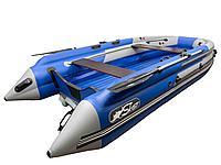 Лодка СКАТ 390 графит/синий
