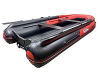 Лодка REEF-400 Fi нд ТРИТОН S MAX стеклопластиковый интерцептер красный/черный