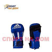 Перчатки для рукопашного боя Adidas (8 OZ,синий)