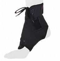 Бандаж на голеностопный сустав со шнуровкой AS-ST/M, черный
